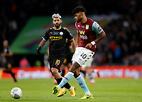 1st March 2020; Wembley Stadium, London, England; Carabao Cup Final, League Cup, Aston Villa versus Manchester City; Tyrone Mings of Aston Villa - Strictly Editorial Use Only. No use with unauthorized audio, video, data, fixture lists, club/league logos or 'live' services. Online in-match use limited to 120 images, no video emulation. No use in betting, games or single club/league/player publications