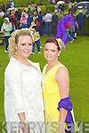Caitriona Sayers and Margurite Trant at Killarney races ladies day on Thursday.