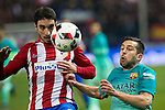 Atletico de Madrid's and FC Barcelona's defender Jordi Alba (R) during the match of Copa del Rey between Atletico de  Madrid and Futbol Club Barcelona at Vicente Calderon Stadium in Madrid, Spain. February 1st 2017. (ALTERPHOTOS/Rodrigo Jimenez)
