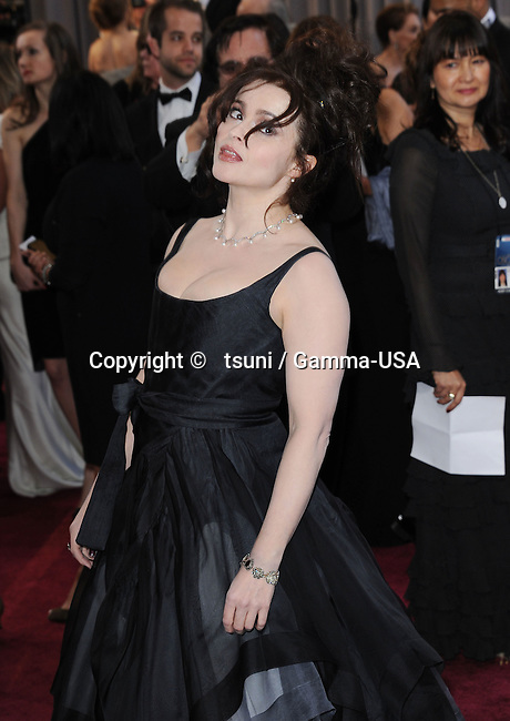 Helena Bonham Carter_63 arriving at the 85th Academy Awards 2013 - Oscars - at the Dolby Theatre in Los Angeles.