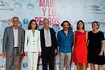 (L to R) Chema de la Pena, Ana Peláez, Isabel Preysler and Mario Vargas Llosa attend the photocall of 'Mario y los Perros´. June 27, 2019. (ALTERPHOTOS/Johana Hernandez)