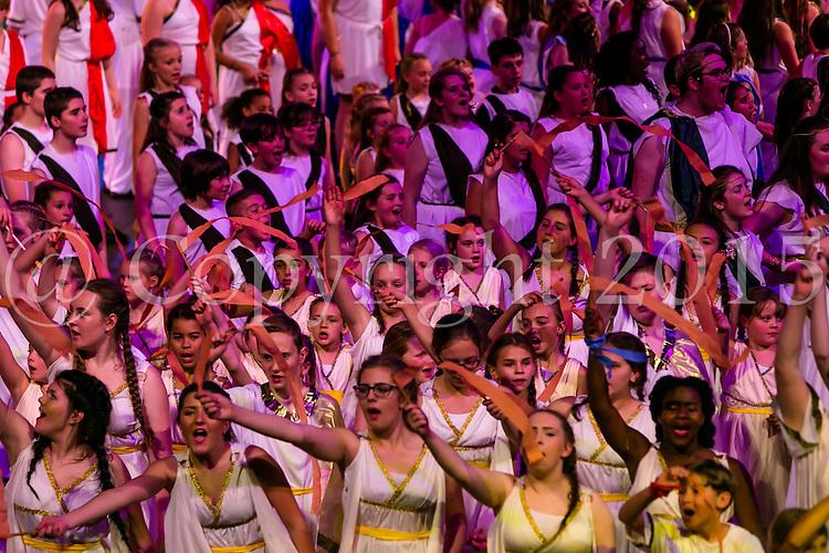 Theatretrain - How To Make A Hero, Royal Albert Hall  20th September 2015<br /> <br /> Photo:  - Richard Washbrooke Photographic
