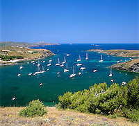 Spain, Catalonia, Costa Brava, near Cadaques: Port Lligat - a small village located in a small bay on Cap de Creus peninsula | Spanien, Katalonien, Costa Brava, bei Cadaques: Portlligat oder Port Lligat - ein kleiner Ort an der Halbinsel Cap de Creus