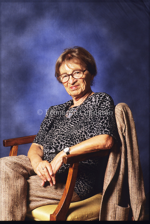 Agnes Heller (Budapest, 1929th May 12 -) Széchenyi Award-winning philosopher, historian, professor, member of the Hungarian Academy of Sciences. Modena 20 settembre 2005. © Leonardo Cendamo