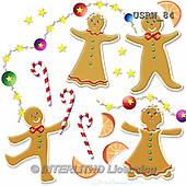 Randy, CHRISTMAS SYMBOLS, WEIHNACHTEN SYMBOLE, NAVIDAD SÍMBOLOS, paintings+++++Gingerbread-Figures,USRW84,#xx# ginger bread
