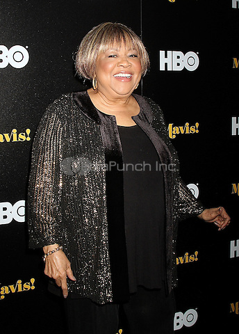 NEW YORK, NY - FEBRUARY 24:  Mavis Staples at the New York premiere of HBO Documentary Films' 'Mavis!', the documentary about Rock and Roll Hall of Famer and 2016 Grammy winner Mavis Staples in New York, New York on February 24, 2016.  Photo Credit: Rainmaker Photo/MediaPunch