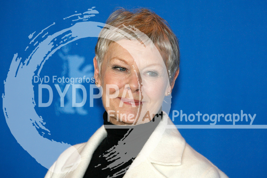 """Actress Judi Dench at the Berlinale 2007, 57. Internationale Filmfestspiele Berlin / 57th Berlin International Film Festival,  Photocall for """"Notes on a Scandal"""""""