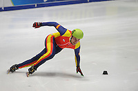 SHORTTRACK: DORDRECHT: Sportboulevard Dordrecht, 24-01-2015, ISU EK Shorttrack Ranking Races, Victor MARTINEZ-BLANCH (ESP | #16), ©foto Martin de Jong