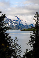 St. Mary Lake as seen from the Blackfeet Reservation