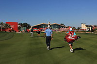Paul Waring (ENG) on the 9th fairway during Round 1 of the Abu Dhabi HSBC Championship 2020 at the Abu Dhabi Golf Club, Abu Dhabi, United Arab Emirates. 16/01/2020<br /> Picture: Golffile | Thos Caffrey<br /> <br /> <br /> All photo usage must carry mandatory copyright credit (© Golffile | Thos Caffrey)