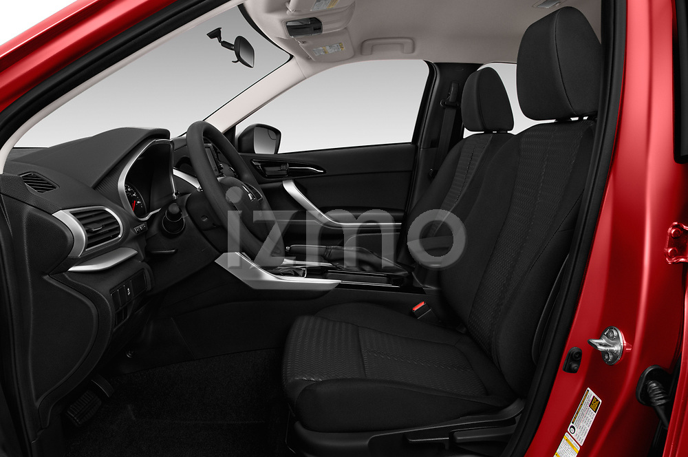 Front seat view of a 2018 Mitsubishi Eclipse Cross ES 2WD 5 Door SUV front seat car photos