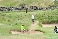 Simon Bryan (Delgany) on the 16th during Round 3 of The South of Ireland in Lahinch Golf Club on Monday 28th July 2014.<br /> Picture:  Thos Caffrey / www.golffile.ie