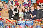 Annua lParish  Bizarre: Attending the Annual Listowel parish Bizarre were  Brendan Behan, Julie Gleeson, Courtney Neill, Nicole O'Connor, Laura O'Connor, Gerard Nagle, Hannah Walsh, Mary Hanlon & Mike Burke .