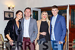 Sinead Buckley, Mike McCarthy Laura Cussen and Ronaan Buckley   at the East Kerry victory social in the Killarney Heights on the 20th Decembery