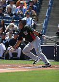 Luis Matos of the Pittsburgh Pirates vs. the New York Yankees March 18th, 2007 at Legends Field in Tampa, FL during Spring Training action.  Photo copyright Mike Janes Photography 2007.