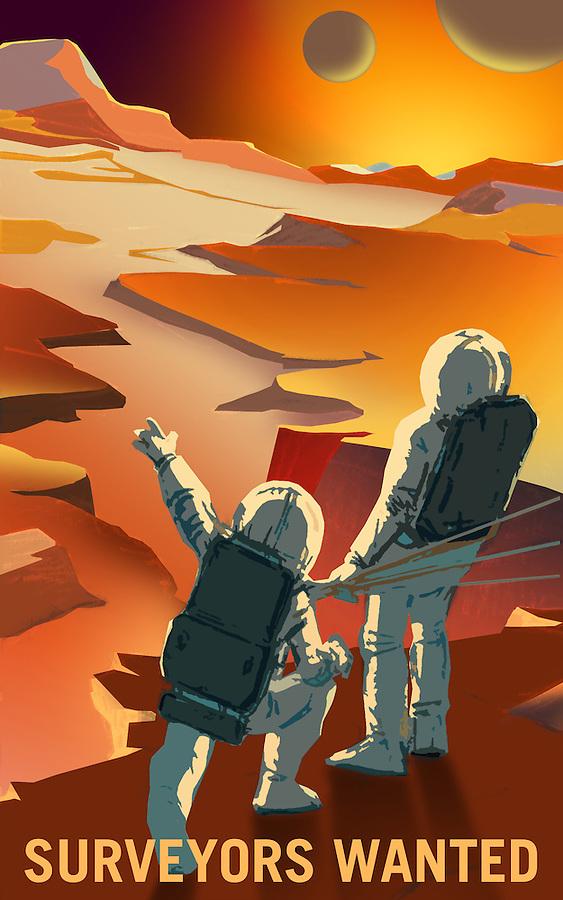 Mars - Surveyors Wanted