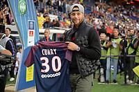 Stephen Curry<br /> Parigi 25-08-2017 <br /> PSG Paris Saint Germain - Saint Etienne <br /> Calcio Ligue 1 2017/2018 <br /> Foto Bibard/Panoramic/insidefoto
