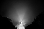 Mist drifts over the Capitol dome on Nov. 24, 2009.
