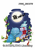 Marcello, CHRISTMAS ANIMALS, WEIHNACHTEN TIERE, NAVIDAD ANIMALES, paintings+++++,ITMCXM1978,#XA# ,owls