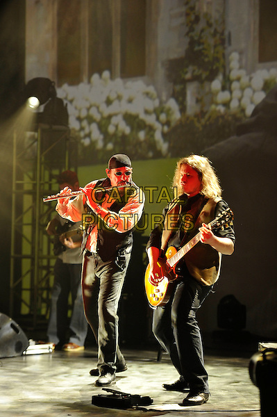 LONDON, ENGLAND - SEPTEMBER 10: Ian Anderson of 'Jethro Tull' performing at Shepherd's Bush Empire on September 10, 2015 in London, England.<br /> CAP/MAR<br /> &copy; Martin Harris/Capital Pictures