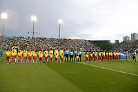 BRASÍLIA, DF, 26.10.2019 – BRASIL-CANADÁ – Partida entre Brasil e Canadá, válida pelo grupo a da Copa do Mundo Sub 17, na tarde deste sábado, 26, no Estádio Bezerrão, na Cidade do Gama em Brasília. (Foto: Ricardo Botelho/Brazil Photo Press)