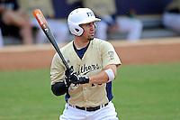 4 March 2012:  FIU infielder/outfielder Adam Kirsch (10) bats as the FIU Golden Panthers defeated the Brown University Bears, 8-3, at University Park Stadium in Miami, Florida.