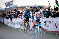 Evie Richards (GBR) & Ellen Van Loy (BEL/Telenet Baloise Lions)<br /> <br /> Women's Elite Race<br /> UCI 2020 Cyclocross World Championships<br /> Dübendorf / Switzerland<br /> <br /> ©kramon