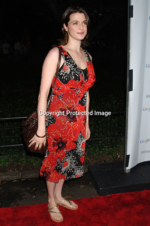 Rachel Weisz..arriving at The Public Theatre's Summer Gala honoring Kevin Kline and Meryl Streep at The Opening NIght of MacBeth at Shakespeare in the Park on June 28, 2006. ..Robin Platzer, Twin Images