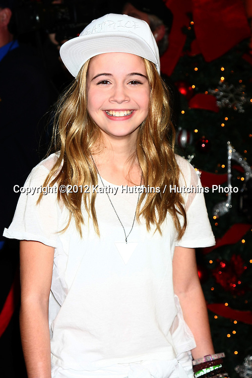 LOS ANGELES - DEC 20:  Beatrice Miller at the 'X Factor' Season Finale at CBS Television City on December 20, 2012 in Los Angeles, CA