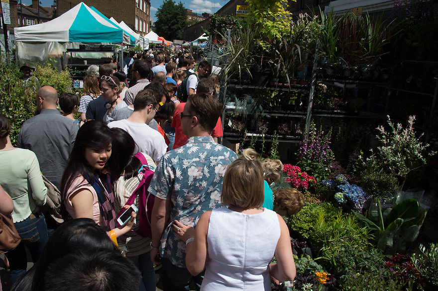 COLUMBIA ROAD_ Flower Market
