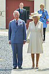 Prince Charles, Prince of Wales, Camilla, Duchess of Cornwall as well as Princess Astrid of Belgium attend the inauguration of the restorated Hougoumont Farm, the day before the commemoration of the bicentenary of the Battle of Waterloo. Hougoumont Farm is considered as the last authentic remains of the Battle of Waterloo<br /> Pix... Camilla, Duchess of Cornwall, Britain's Prince Charles, Prince of Wales / Princess Astrid / Countess Stephanie de Lannoy / Prince Alexander of Luxembourg
