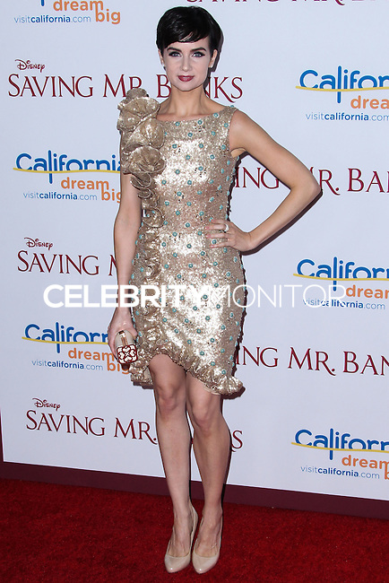 "BURBANK, CA - DECEMBER 09: Actress Victoria Summer arrives at the U.S. Premiere Of Disney's ""Saving Mr. Banks"" held at Walt Disney Studios on December 9, 2013 in Burbank, California. (Photo by Xavier Collin/Celebrity Monitor)"