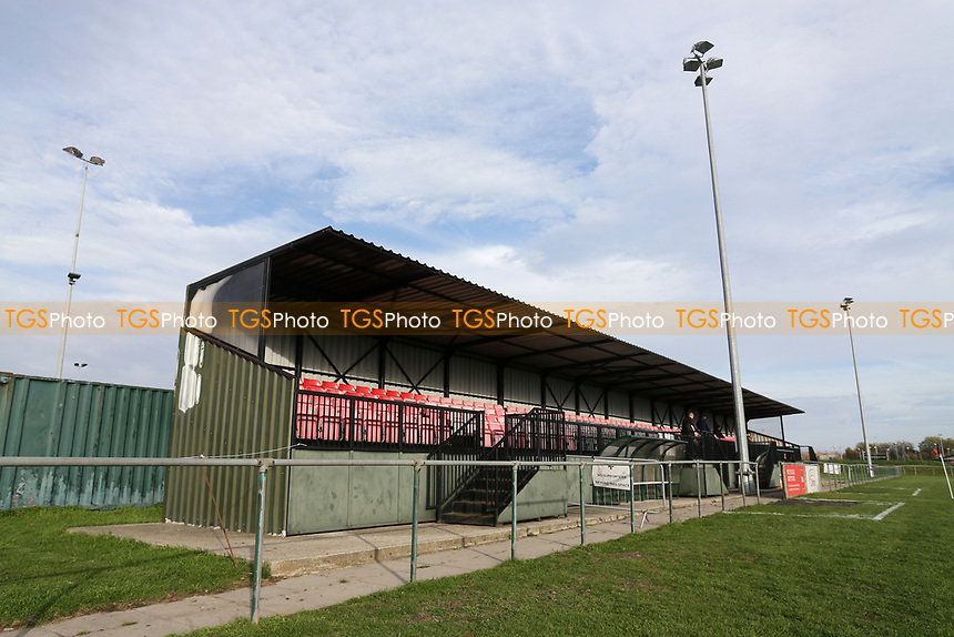 General view of the ground during May & Baker vs Swaffham Town, Buildbase FA Vase Football at Gale Street on 4th November 2018