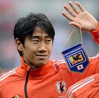 FUSSBALL   INTERNATIONAL   Testspiel    Japan - Brasilien          16.10.2012 Shinji KAGAWA (Japan)