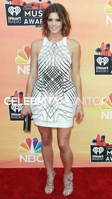 LOS ANGELES, CA, USA - MAY 01: Ashley Greene at the iHeartRadio Music Awards 2014 held at The Shrine Auditorium on May 1, 2014 in Los Angeles, California, United States. (Photo by Celebrity Monitor)