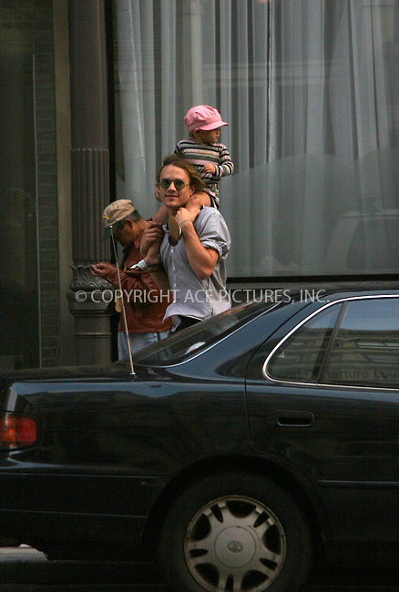 WWW.ACEPIXS.COM . . . . .  ....September 23 2007, New York City....Actor Heath Ledger was spotted giving his daughter Matilda a ride around Soho.....Please byline: NANCY RIVERA- ACE PICTURES.... *** ***..Ace Pictures, Inc:  ..tel: (646) 769 0430..e-mail: info@acepixs.com..web: http://www.acepixs.com