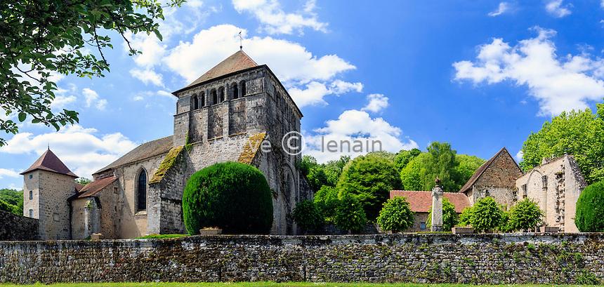 France, Creuse (23), Moutier-d'Ahun, abbaye de Moutier-d'Ahun // France, Creuse, Moutier-d'Ahun, Moutier d'Ahun abbey