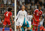 Cristiano Ronaldo during the UEFA Champions League semifinal first leg football match Real Madrid CF vs FC Bayern Munchen at the Santiago Bernabeu stadium in Madrid in Madrid on April 23, 2014.   PHOTOCALL3000/ DP
