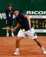 18-8-07, Amsterdam, Tennis, Nationale Tennis Kampioenschappen 2007, Paul Logtens