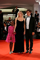 VENICE - September 5: (L-R) Celine Garrel and Valeria Bruni Tedeschi and Riccardo Scamarcio on September 5, 2018 in Venice, Italy.(By Mark Cape/Insidefoto)