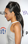 Candice Patton arriving at the Paleyfest LA 2015 presents The Flash held at The Dolby Theatre Los Angels Ca. on March 14, 2015