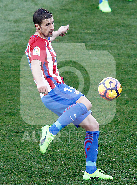 Atletico de Madrid's Gabi Fernandez during La Liga match. February 26,2017. (ALTERPHOTOS/Acero)