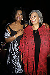 Oprah Winfrey and Toni Morrison at the Beloved premiere, Ziegfield Theatre, New York City.<br />November 8, 1998.
