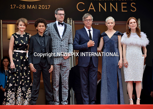 18.05.2017; Cannes, France: MICHELLE WILLIAMS AND JULIANNE MOORE<br /> attends the premiere of &ldquo;Wonderstruck&rdquo; at the 70th Cannes Film Festival, Cannes<br /> Mandatory Credit Photo: &copy;NEWSPIX INTERNATIONAL<br /> <br /> IMMEDIATE CONFIRMATION OF USAGE REQUIRED:<br /> Newspix International, 31 Chinnery Hill, Bishop's Stortford, ENGLAND CM23 3PS<br /> Tel:+441279 324672  ; Fax: +441279656877<br /> Mobile:  07775681153<br /> e-mail: info@newspixinternational.co.uk<br /> Usage Implies Acceptance of Our Terms &amp; Conditions<br /> Please refer to usage terms. All Fees Payable To Newspix International