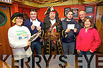 Thanks to the Success of the 2013 Portmagee Sea Shanty Festival and the generous donations from those who attended €2000 was raised for Valentia Life Boat and the Ballinskelligs Inshore Rescue, pictured at the Chaque presentation in the Moorings Bar on Monday were l-r; Helen Farmer, Tommy Gilligan(Valentia Lifeboat), Gabriel Butler, David Walsh(BIR), Brendan Corkery(BIR) & Bridget Corkery(BIR).