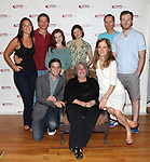 Jenny Dare Paulin, Alexander Cendese, Andrea Lynn Green, Mary Bacon, Devon Abner, Jeremy Bobb, (F) Evan Jonigkeit, Jayne Houdyshell and Hallie Foote.attending the Meet & Greet for the Primary Stages Production of 'Harrison, TX:Three Plays by Horton Foote' at their Rehearsal Studios in New York City on 7/11/2012.