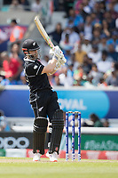 Kane Williamson (New Zealand) pulls a short delivery for four during India vs New Zealand, ICC World Cup Warm-Up Match Cricket at the Kia Oval on 25th May 2019