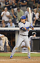 Munenori Kawasaki (Blue Jays),<br /> JUNE 17, 2014 - MLB : Japan's infielder Munenori Kawasaki of the Toronto Blue Jays at bat during the Major League Baseball game against the New York Yankeesat at Yankee Stadium in the Bronx, NY, USA.<br /> (Photo by AFLO)