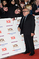 LONDON, UK. January 22, 2019: Danny Devito at the National TV Awards 2019 at the O2 Arena, London.<br /> Picture: Steve Vas/Featureflash