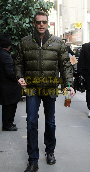 March 06, 2014: Scott Foley at Good Morning America to talk about the new season of 'Scandal' in  New York . <br /> CAP/MPI/RW<br /> &copy;RW/ MediaPunch/Capital Pictures